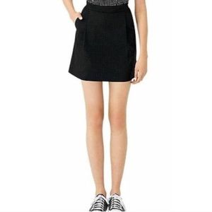 Kate Spade Pockets & Pleats Perforated Skirt 8